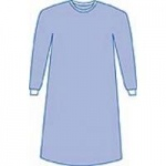 Medline Aurora Gown, Non-Reinforced, Large, Sterile, 30/cs