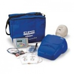 Nasco CPR Prompt Complete AED Training System, Blue