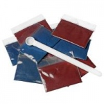 Nasco Blood Replacement Kit for Life-Form Venatech IV Simulators, Red and Blue, 5/pk