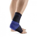 "AchilloTrain Achilles Tendon Support, Black, Left, Size 4 (9"" - 9.75"")"