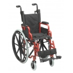 "Inspired by Drive Wallaby Pediatric Folding Wheelchair, 12"", Fire Truck Red"