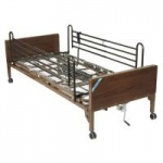 Drive Delta Ultra Light Semi Electric Bed with Full Rails