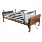 Drive Semi Electric Bed with Full Rails and Foam Mattress