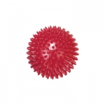 Massage ball, 9 cm (3.6 inches), Red