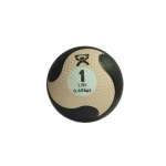 "CanDo® Firm Medicine Ball - 8"" Diameter - Tan - 1 lb"