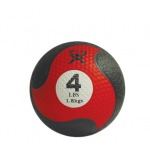 "CanDo® Firm Medicine Ball - 8"" Diameter - Red - 4 lb"