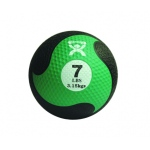 "CanDo® Firm Medicine Ball - 9"" Diameter - Green - 7 lb"
