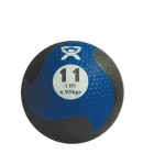 "CanDo® Firm Medicine Ball - 9"" Diameter - Blue - 11 lb"