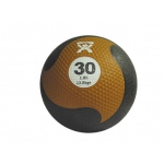 "CanDo® Firm Medicine Ball - 11"" Diameter - Gold - 30 lb"