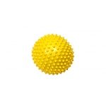 Massage ball, 15 cm (6.0 inches), yellow,  1 dozen