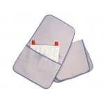 "Relief Pak® HotSpot® Moist Heat Pack Cover - Terry with Foam-Fill - oversize with pocket - 24.5"" x 36"" - Case of 12"