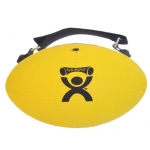 CanDo® Handy Grip™ weight ball - 2 lb - Yellow