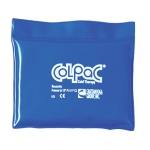 "ColPaC® Blue Vinyl Cold Pack - quarter size - 5.5"" x 7.5"" - Case of 12"