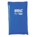 "ColPaC® Blue Vinyl Cold Pack - half size - 7"" x 11"" - Case of 12"