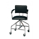 "Adjustable low-boy whirlpool chair with belt, 3"" casters"