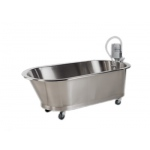 "Low boy mobile whirlpool, slant back, SB-100-M, 100 gallon, 76""Lx40""Wx26""D"
