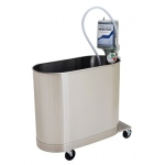 "Extremity mobile whirlpool, E-45-M, 45 gallon, 32""Wx15""Lx25""D"
