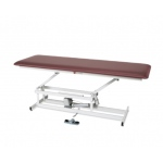 "treatment table - electric hi-low, 76"" L x 27"" W x 17"" - 36"" H, 1-section"