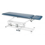 "treatment table - electric hi-low, 76"" L x 27"" W x 18"" - 37"" H, 2-section"