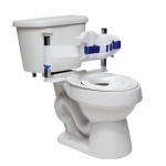Columbia®  Toilet Support - Low Back (Safety Belt & Reducer Ring) - Padded - Large