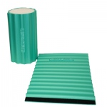 Thera-Band® foam roller wraps+, green