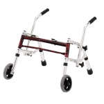 "Glider walker pediatric, width 22"", height 12""-21"", red"