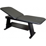 "Eurotech treatment table - fixed height, 78"" L x 28"" W x 30"" H, 2-section"