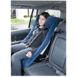 Columbia® TheraPedic™ IPS™ - 2500 car seat - small adult - blue, 40-130 lbs., 54-66""