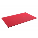 "Airex® Exercise Mat - Atlas - Red, 78"" x 48"" x 5/8"", case of 10"