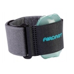 Pneumatic Armband for tennis elbow - black