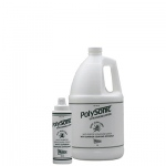 Polysonic® ultrasound lotion with aloe vera, 1 gallon with refillable dispenser bottle (Dispenser pump not included) - 4 units
