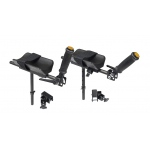 Gait trainer, accessory, forearm platform set with mount