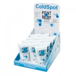 Point Relief® ColdSpot™ - Gel Pump Bottle - 4 ounce - 12-piece Dispenser w/ Display Box - Case of 12
