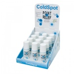 Point Relief® ColdSpot™ Lotion - Retail Display with 12 x 3 oz Roll-on Applicator