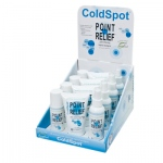 Point Relief® ColdSpot™ Lotion - Retail Display with 4 x 3 oz Spray, 3 oz Roll-on and 4 oz Gel