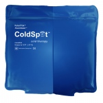 "Relief Pak® ColdSpot™ Blue Vinyl Pack - quarter size - 5"" x 7"" - Case of 12"