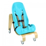 Special Tomato® Soft-Touch™ Sitter Seat - seat and mobile base - size 1 - teal