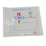 "Relief Pak® Val-u Pak™ LiTE® Cold n' Hot® Pack - 5"" x 6"" - Case of 12"