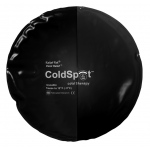 "Relief Pak® ColdSpot™ Black Urethane Pack - circular - 10"" diameter - Case of 12"