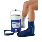 AirCast® CryoCuff® - Ankle with gravity feed cooler