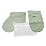 WaxWel® Paraffin Bath - Accessory Package - 50 Liners, 1 Mitt and 1 Bootie ONLY