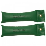 CanDo® SoftGrip® Hand Weight - 8 lb - Green - pair