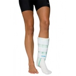 Air Stirrup® Leg Brace with Anterior Panel, medium, right