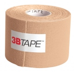"3B Tape, 2"" x 16.5 ft, beige, latex-free"