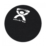 "CanDo® Cushy-Air® Hand Ball - Black - 10"" (25 cm)"