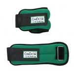 CanDo® Weight Straps - 3 lb Set (2 each: 1-1/2 lb weight) - Green