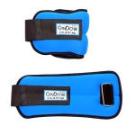 CanDo® Weight Straps - 4 lb Set (2 each: 2 lb weight) - Blue