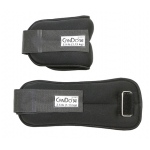 CanDo® Weight Straps - 5 lb Set (2 each: 2-1/2 lb weight) - Black