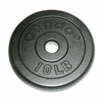 Iron Disc Weight Plate - 10 lb