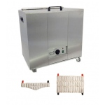 Relief Pak® Heating Unit, 24-Pack Capacity, Mobile with (8) Oversize and (8) Neck Packs, 110V - Available July